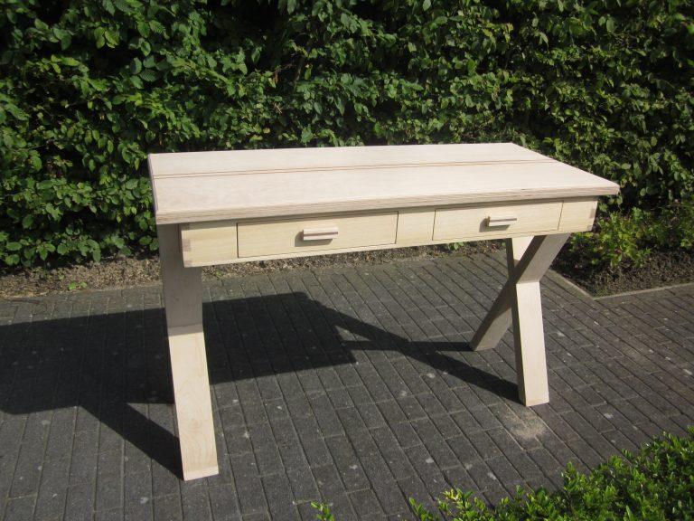 Sidetable -Desk eindresultaat